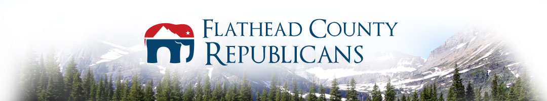 Flathead County Republicans Logo